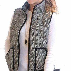 Jackets & Blazers - Herringbone vest